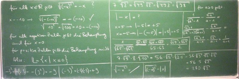quadratwurzel berechnen ohne taschenrechner