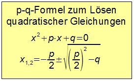 aufgabe quadratische funktionen
