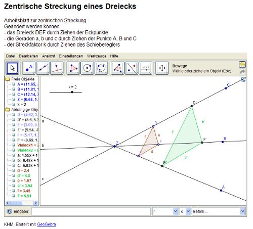 1011 Unterricht Mathematik 9c - Ähnlichkeit
