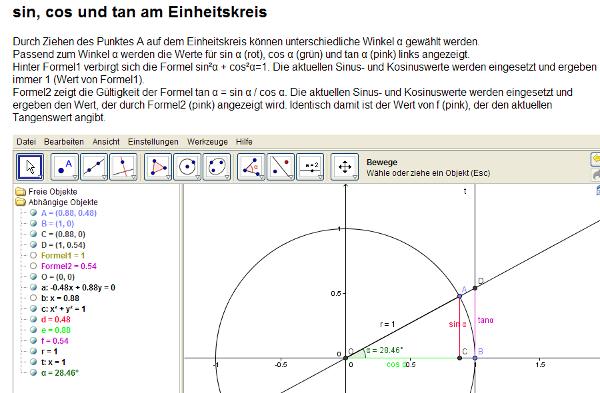 1213 Unterricht Mathematik 9e - Trigonometrie
