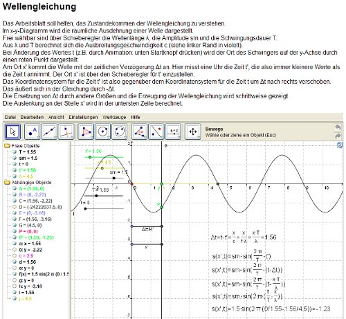 1011 Unterricht Physik 11PH1e - Wellen