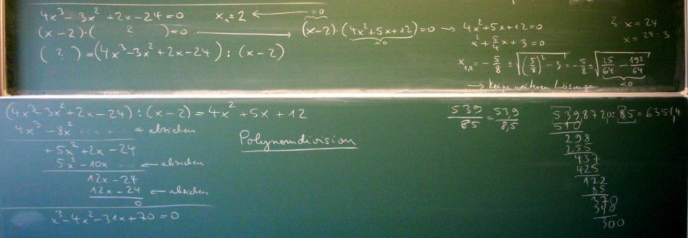 extremstellen berechnen pq formel